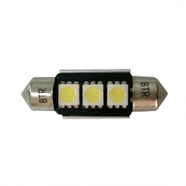 LAMPADAS LED 3 SMD 36MM CANBUS