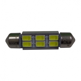 LAMPADAS LED 6 SMD 39MM CANBUS