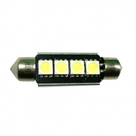 LAMPADAS LED 4 SMD 44MM CANBUS