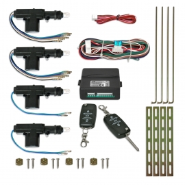 KIT FECHO CENTRAL C/COMANDO RETRATIL