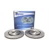 DISCOS TA TECHNIX RANHURADOS PERFURADOS VW GOLF 4 (280MM)